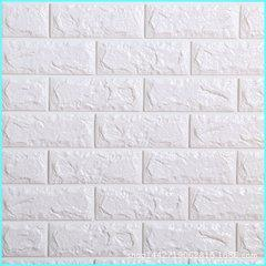 Wholesale Brick Wallpaper Sticker - Colorful 70x77cm PE Foam Adhesive 3D Wall paper Safty Home Decorative Wallpaper Bedroom Decorative DIY Brick Pattern Wall Stickers