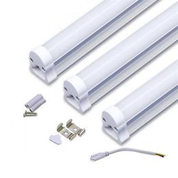 Wholesale T5 Tube Lamps - 2017 Integrated LED tube light lamp T5 SMD 2835 LED fluorescent tube Light T5 600mm 0.6M 2FT 2 feet 9W AC85-265V