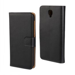 Wholesale Genuine Leather Iphone Card - GENUINE Wallet Credit Card Stand Leather Case For Google Pixel Pixel XL BlackBerry Z30 Wiko JimmyLenny Ridge 4G Ridge Fab 4G OT6037K 1-10pcs