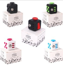 Wholesale First Americans - New Fidget Cube Fidget spinner the world's first American decompression anxiety Toys By DHL