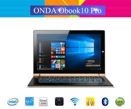 Wholesale Onda Ips - Wholesale- 10.1 inch IPS Onda Obook 10 Pro Obook10 Pro Windows10 Tablet PC 1920*1200 IntelCherry-Trail Atom X7-Z8700 4G Ram 64G Rom