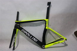 Wholesale Group Fit - 2017 NEW customize Cipollini T1000 NK 1K carbon road bike frame OEM - Fit Both DI2 and Mechanical group with BSA bottom bracket