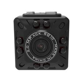 Wholesale Micro Camera Motion Detection - SQ10 Mini Hidden Camera HD 1080P 720P 12MP Infrared Night Vision Digital Micro Cam Motion Detection Portable Spy Camcorder Video Recorder