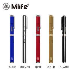 Wholesale Ego Ecigarette Batteries - Original Mlife Mini Pen Starter Kits Vape Pens Shisha ECigarette eGo Style With 320mAh Battery Vaporesso 0.8ml Capacity E-juice Tank