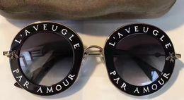 Wholesale Inspire Man - Fashion Inspired 0113S 001 Black Gold Metal Sunglasses 0113S 44mm Brand Designer Sunglasses New with Box
