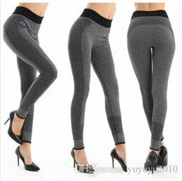 Wholesale Denim Sweat - Women Sport Yoga Pants Outdoor Running Exercise Breathable Absorb Sweat Quick-drying Leggings Fitness Running Tights