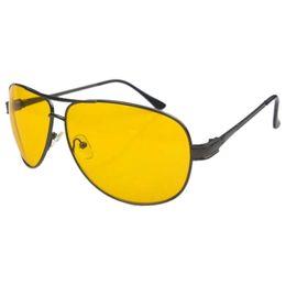 Wholesale Polarized Night Glasses - Wholesale- 2017 New Arrival Men Sunglasses Night Vision polarized Glasses Eyewear K39