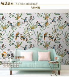 Wholesale Fiberglass Wall Coverings - Custom photo wallpaper High quality Warm flowers wall covering living room sofa bedroom TV backdrop wallpaper mural wall paper
