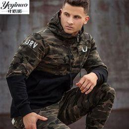 Wholesale Mens Slim Hoodies Wholesale - Wholesale- YEYINUO Brand 2017 new fashion spring autumn mens hoodies camouflage style hoodie army sweatshirt tracksuit male hoodie