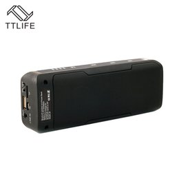 Wholesale Home Theater Sound - Wholesale- TTLIFE J6 Multifunction Portable Wireless Bluetooth Speaker 6W Stereo Power Bank FM Radio Sound Box Home Theater Party Speaker