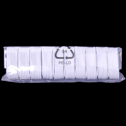 Wholesale micro mobile charger - OD 2.6 OD 3.6MM 1m White Foil & Fabric usb data sync charger Cable for mobile phone 5 6 6s 7 7 plus laptop for samsung