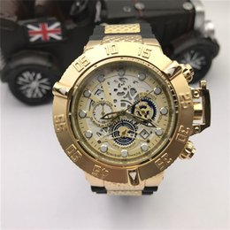 Wholesale Cheap Big Dial Watches - Cheap Prices Dragon Style Watch, Clocks with Silicone Strap Bands, Watches Three Big Dial, Watches Timers