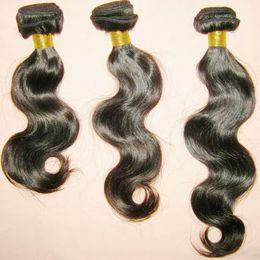 Mejor pelo libre de enredos de pelo online-Mejor oferta 7A Weave Crazy Promotion 3 paquetes de Body Waves peruano cabello humano que teje enredo libre