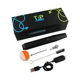 Wholesale Smoking Vaporizers Wholesale - WAX vaporizers 2017 hotest Electronic cigarette smoking 510 skillet Dual coil creamic wax atomizer Starter kits TIP vepe pen-02