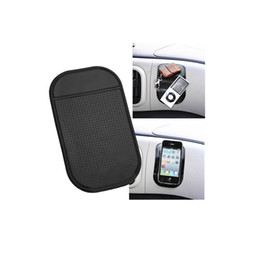 Wholesale Dash Slip Mat - Wholesale-2016 Hot Sale Brand New Universal Travel Mobile Phone Holder ANTI Slip Car Dash Non Dashboard For Phone Sticky Mat