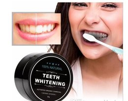 Wholesale Teeth Whitening Grades - 2017Food grade teeth Powder Bamboo dentifrice Oral Care Hygiene Cleaning natural activated organic charcoal coconut shell tooth Yellow Stain