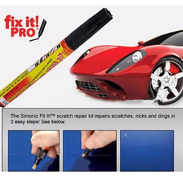 Wholesale Simoniz Car Pen - Fix it PRO Car Coat Scratch Cover Remove Painting Pen Car Scratch Repair for Simoniz Clear Pens Packing Car Care 3002056