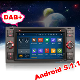 """Wholesale Dvd Player Ford C Max - 7"""" HD Android 5.1 Car Stereo Radio DVD Player GPS DAB+ Ford C-Max S-Max Focus Fiesta Kuga 3G Wifi DAB+ Mirror Link"""