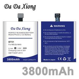 Da Da Xiong 3800mAh BT-51 BT51 Аккумулятор для MEIZU MX5 M575M M575U от Поставщики аккумулятор 51