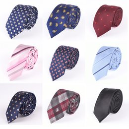 Wholesale Men Designer Neck Ties - Mens Designer Ties Multi-Color Fashion Wedding 8 cm Business Floral Paisley Tie Neckties For Men