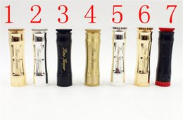Wholesale Time Atomizer Cigarette - Timekeeper V3 Mechanical Mod Vaporizer Time Keeper V3 fit 18650 Battery 510 RDA Atomizers Electronic Cigarette 7 Colors DHL Free
