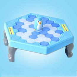 Mesas de cubo on-line-Puzzle Brinquedos Jogo de Mesa Bater Cubos De Gelo Salvar Pinguim Família Brinquedo Interativo Superfície Suave Delicada Cores Brilhantes 6 75swv I1
