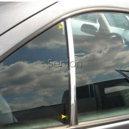 Wholesale Audi A4 B8 Chrome - Car Sticker Chrome Decor Strip For Audi A3 A4 B5 B6 B8 A6 C5 C6 A5 Q3 Q5 BMW E46 E39 E90