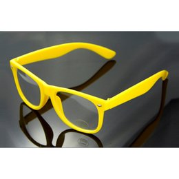 Wholesale Leopard Frame Glasses Optical - Wholesale- 1Pc Student Non-Mainstream Clear Lens Glasses Frame Leopard Print Eyeglasses Men Women Decoration Optical Lens Eye Frame