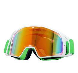 Wholesale Iridium Glasses - 2017 NEW MX Airbrake Gold Iridium Motocross Goggles off road glasses motorcycle dirt bike racing google