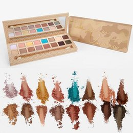 Wholesale Eyeshadow Platte - 2017 New Kylie Jenner Cosmetics Take Me On Vacation Eyeshadow Palette Collection 16 Color Take Me On Eye Shadow Platte Free DHL