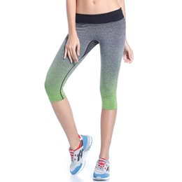 Wholesale Low Price Leggings - Wholesale- Lowest Price! Women Leggings Summer Capri Pants Fitness Clothes Elastic Capris Leggings