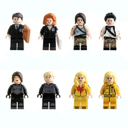 Wholesale Kill Bill - Building Blocks Minifigures Action Bricks Kill Bill Vol.1 Uma Thurman The Bride Nathan Drake Kettenis Kids Christmas Toys 8pcs set KL9011
