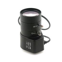Wholesale Dc Auto Iris Cctv Lens - 6-60mm CS lens 1.3MP 1 3inch F1.6 CS Mount DC Auto Iris Varifocal IR CCTV Lens for Box Body Camera
