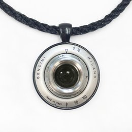 Wholesale Photographer Gifts - Free shipping Vintage Camera Lens Necklace Camera Pendant Camera Jewelry Photographer Gift Photographer Jewelry