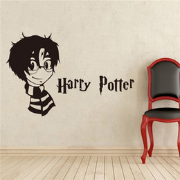 Wholesale Mystery Piece - Harry Potter Mystery Fantasy Vinyl Wall Stickers Wall Stickers Home Living Room Decor Stickers Wall Sticker Interior DIY
