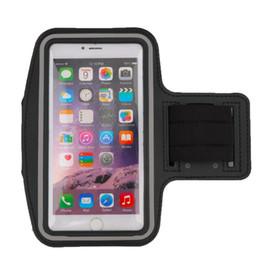 caso reflexivo iphone Desconto Atacado-1pcs correndo jogging sports gym braçadeira case capa titular para iphone 6 plus tira reflexiva neoprene material vendas quentes