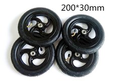 Wholesale Cheap Skateboard Wheels - High quality cheap price electrical skateboard off-road inflatable round wheels