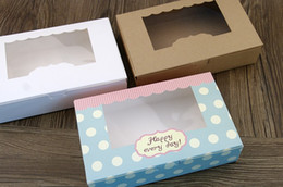 Wholesale Packing Boxes Supplies - 10 Pcs 2 style partten Cardboard Box, Gift  cake candy packing Boxes , Chocolate Bakery Bakingware packing Party Supplies