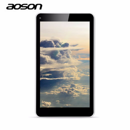 Wholesale Tablet Camera 2mp - Wholesale- NEW Aoson M751S-BS 7 inch kids children Tablet PC Quad Core Wifi 3G Extenal 512MB RAM+8GB ROM Dual Camera Android 4.4 2MP camera