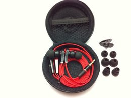 Wholesale Free Cell Ipad - Best Selling tour earphone In-ear Headphone Headsets Earbuds Flat cable new fashion for iphone, ipad, ipod, Mp3 with Retail Box free DHL