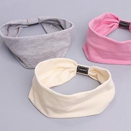 Wholesale Korean Wigs Women - Korean Style Women's Hair Band Cotton Casual Face Shield Headband Female Woman Hair Accessories Hair Bows For Woman Ns025