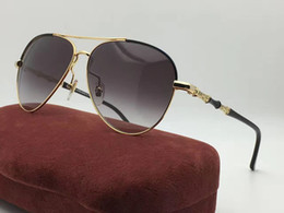 Wholesale Full Bee - G4277 Sunglasses Luxury Men Brand Designer Popular Fashion Oval Summer Style With The Bees Top Quality UV Protection Lens Come With Case