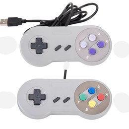 Wholesale Snes Controller Classic - 2017 New Hot 1.5M SNES wired controller Game controller for Nintendo snes classic gamepad joystick mini SNES