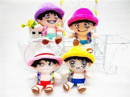 "Wholesale Tony Chopper Plush Doll - 4pcs Lot 8"" 20cm Anime Japanese One Piece Plush Toys Tony Tony Chopper Plush Toy Dolls Wholesale"