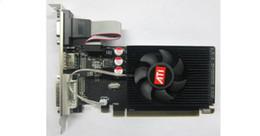 Tarjetas gráficas de 64 bits online-Nueva tarjeta de video gráfica HIYA AMD HD6450 2G DDR3 de 64 bits con interfaz HDMI, VGA, DVI-I