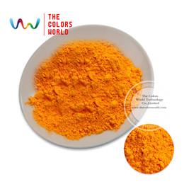 Wholesale Fluorescent Paint Powder - Wholesale- TCFG-612 Orange neon Colors Fluorescent Neon Pigment Powder for Nail Polish&Painting&Printing 1 lot= 10g 50g