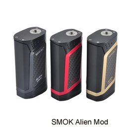 Wholesale Baby Temp - SMOK Alien MOD 220W VW Temp Control Function Alien TC Box Mod fit for Smok TFV8 Baby Tank 100% Original