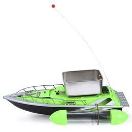 Wholesale Rc Mini Bait - Mini RC Wireless 200M Fishing Lure Bait Boat for Finding Fish Remote Control Battery Included DHL Free