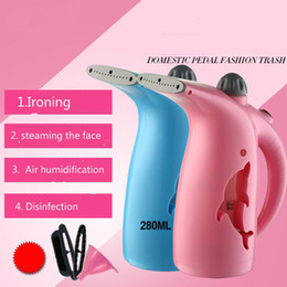 Wholesale Hanging Steam Iron - portable facial steamer Handheld hanging machine mini steam brush steam iron 280ML large capacity steam humidifier