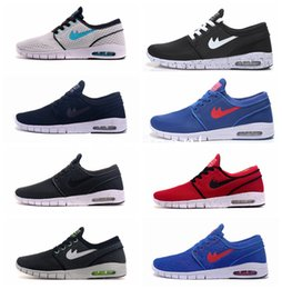 Wholesale Womens Free Run Shoe - New Arrival Mens Running Shoes With Tag New fashion SB Stefan Janoski Max Mens and womens Fashion Sneakers shoes EU36-45 Free Shipping
